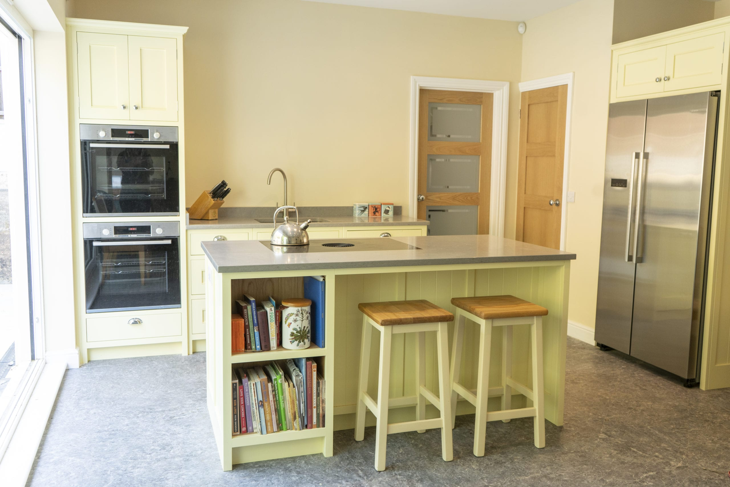 Bedfordshire Yellow Shaker Kitchen