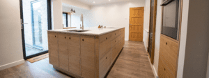 Plywood Kitchen Design Oxfordshire
